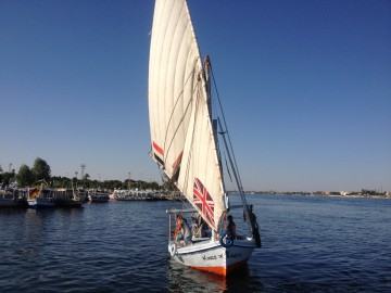 Cruising Down The River Nile- In- Luxor-Egyp2
