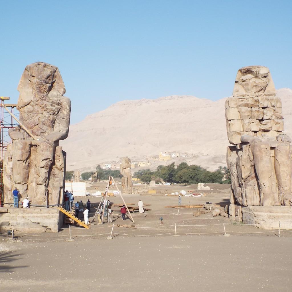 Colossi of Memnon -in-Luxor-Egypt2